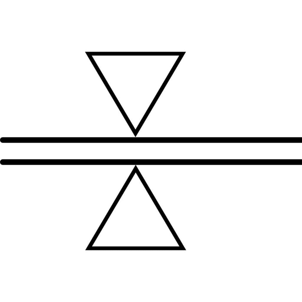 Symbole auf Schnittmustern