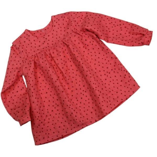 Kinderkleid aus Webware nähen