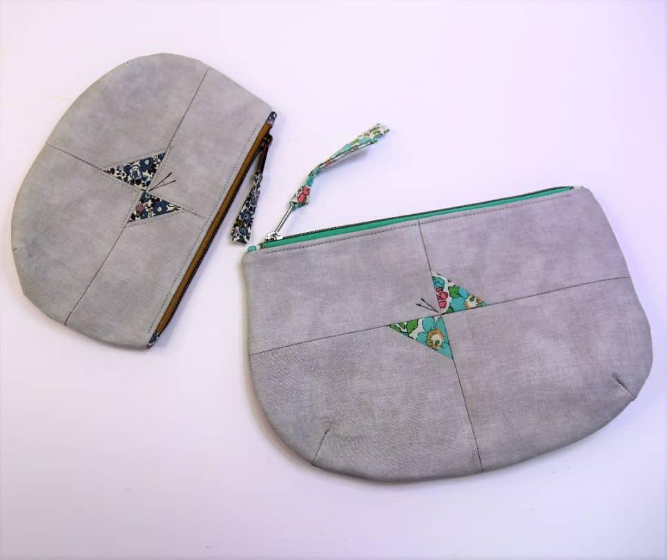 Tasche mit Schmetterling nähen