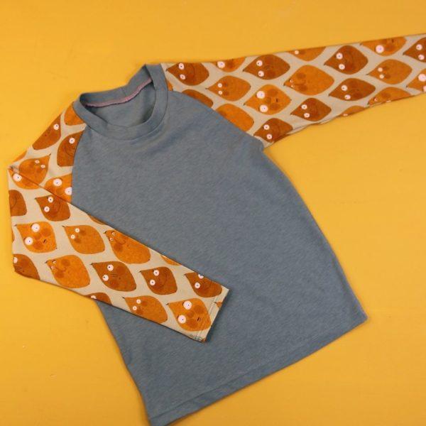 Raglan Shirt Lemon slim