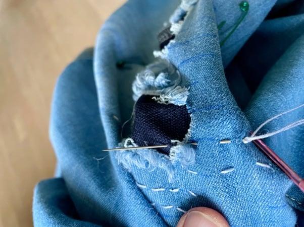 eans mit der Hand reparieren: Variante 1