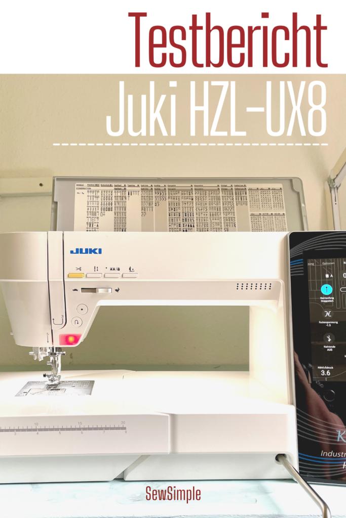 Testbericht Juki HZL-UX8